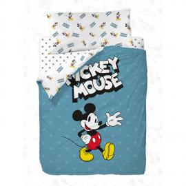 Funda nórdica reversible MICKEY 90 Disney