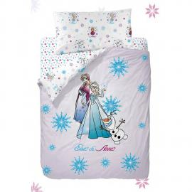 Funda nórdica reversible FROZEN STRONG HEART Disney