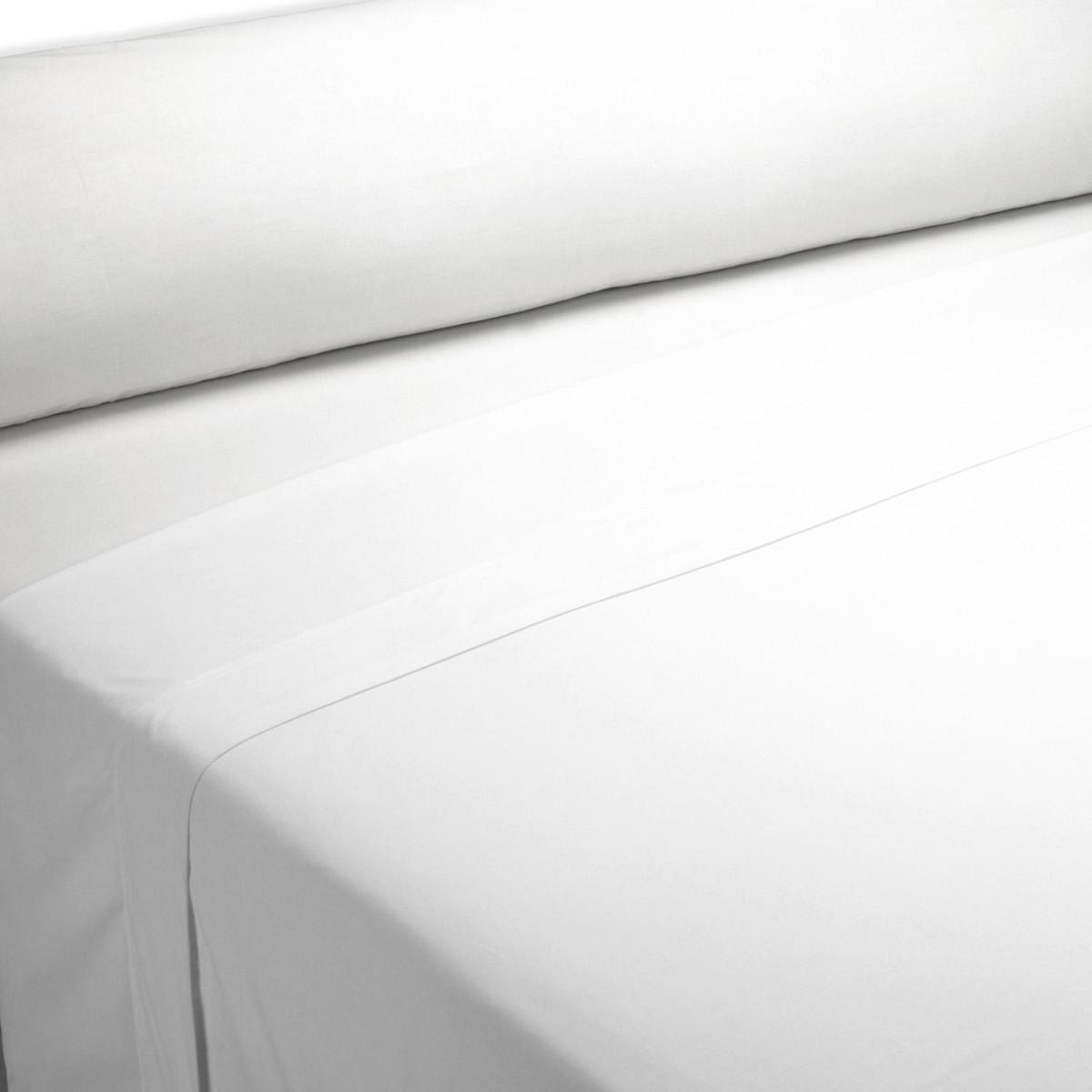 Sábana encimera HOSTELERIA 200 hilos Percal 50% Algodón - 50% Poliéster