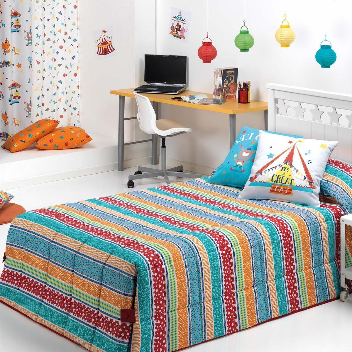 Conforter infantil CIRCUS STRIPE Cañete
