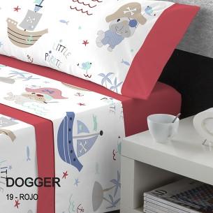 Juego sábanas infantil DOGGER Catotex