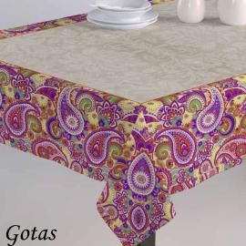 Mantel GOTAS Purpura Home