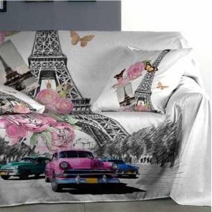 Foulard sofá GLAMOUR Purpura Home