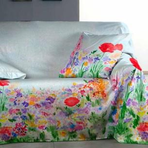 Foulard sofá PAISAJE Purpura Home
