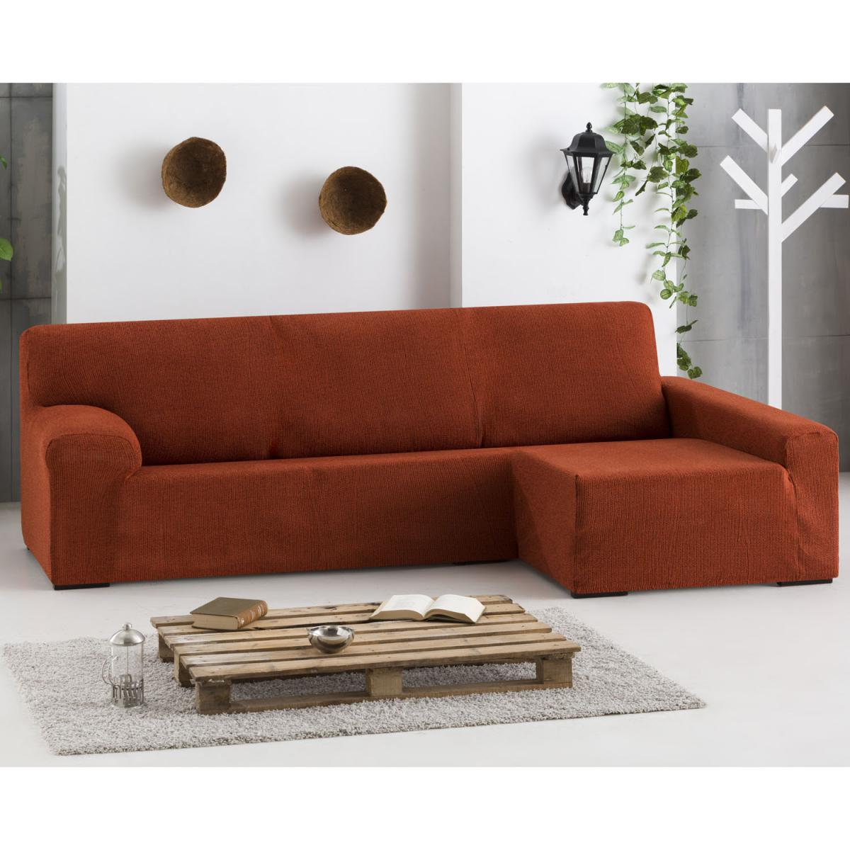 Funda sof chaise longue dorian eysa - Fundas de sofa con chaise longue ...