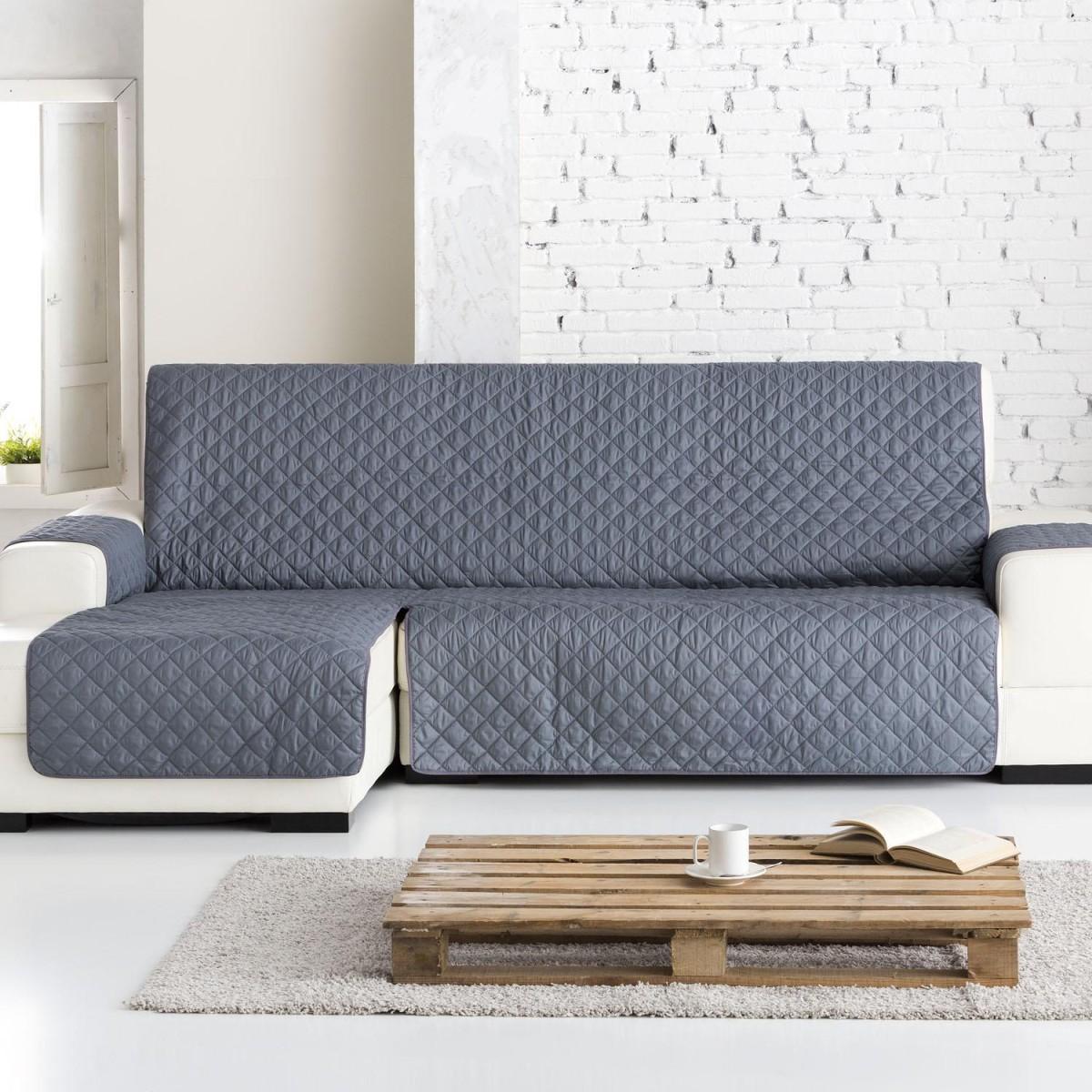 Funda Sof 225 Chaise Longue Dual Quilt Eysa