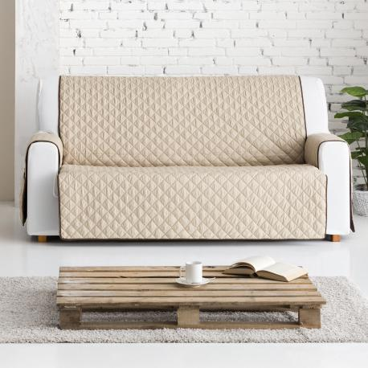 Funda Para Sof 225 Reversible Dual Quilt Eysa