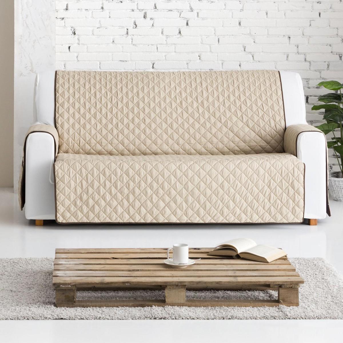 Funda para sof reversible dual quilt eysa - Telas para fundas de sofa ...