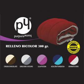 Relleno nórdico BICOLOR Purpura Home