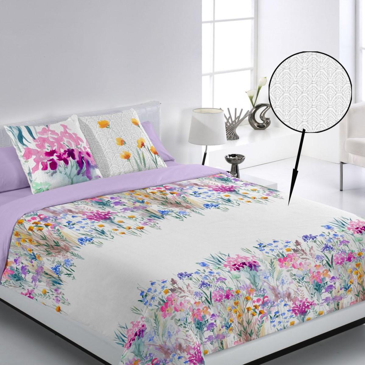 Juego funda n rdica lienzo encama cama - Ropa de cama para hosteleria ...