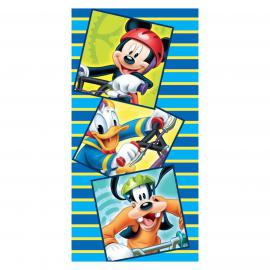 Toalla playa MICKEY-DONALD-GOOFY Disney