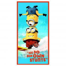 Toalla playa MINIONS SURF Disney