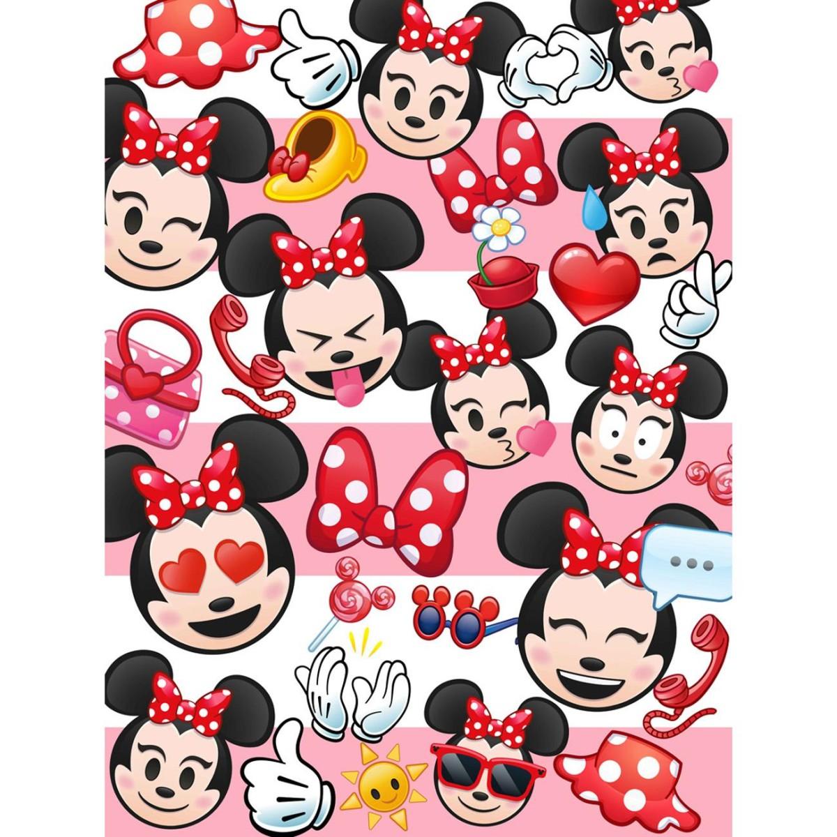 Duvet MINNIE EMOJI Disney