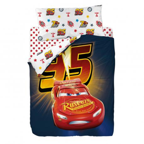 Juego funda nórdica CARS 3 RACING Disney