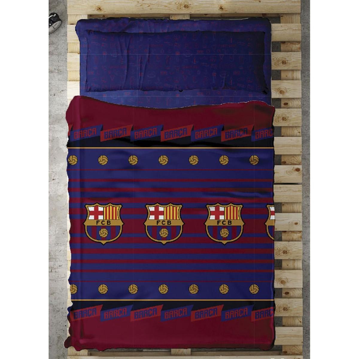 Juego sábanas BALON FC Barcelona - sábanas 041957e275511