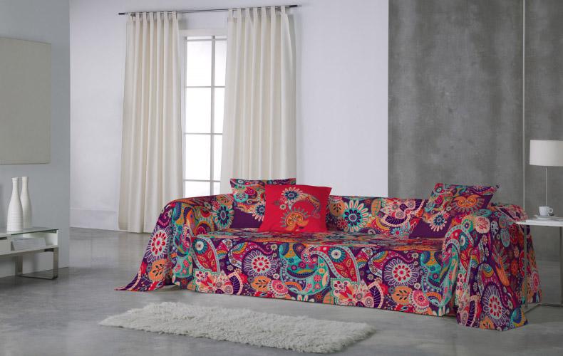 Pasos para colocar funda de sof multiusos lunatextil blog - Como hacer una funda para un sofa ...
