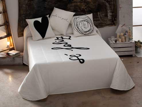 C mo usar cojines originales para decorar la cama - Cojines grandes cama ...