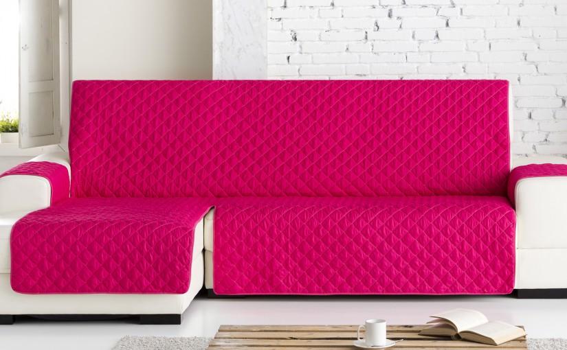 Cubre sofa chaise longue acolchado baci living room - Fundas para cheslong ...