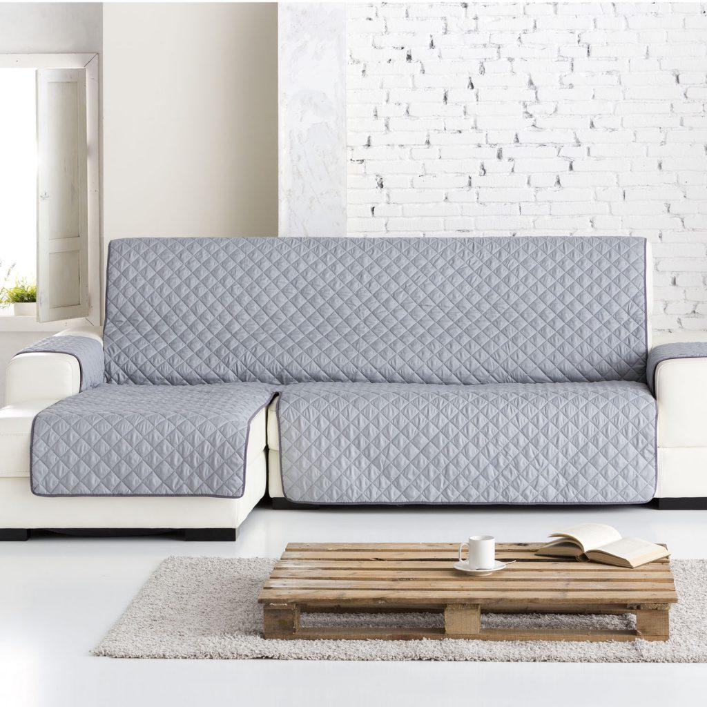 Dale un lavado de cara a tu chaise longue lunatextil blog - Fundas para sofas con chaise longue ...